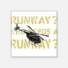 Runway? Who Needs A Runway? Grunge type