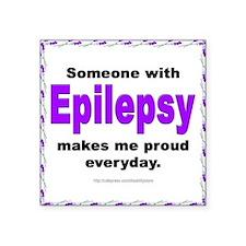 Epilepsy Pride Square Sticker