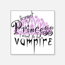 Princess to Vampire Square Sticker