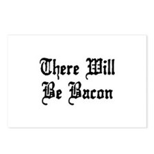 There Will Be Bacon Postcards (Package of 8)