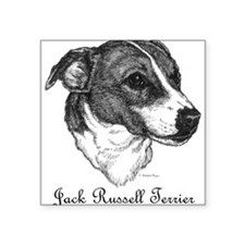 Jack Russell Square Sticker