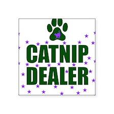 CATNIP DEALER Square Sticker