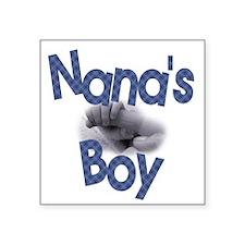Nana's Boy Square Sticker