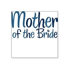 Cool Country Mother Bride Square Sticker