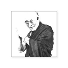 Dalai Lama Square Sticker
