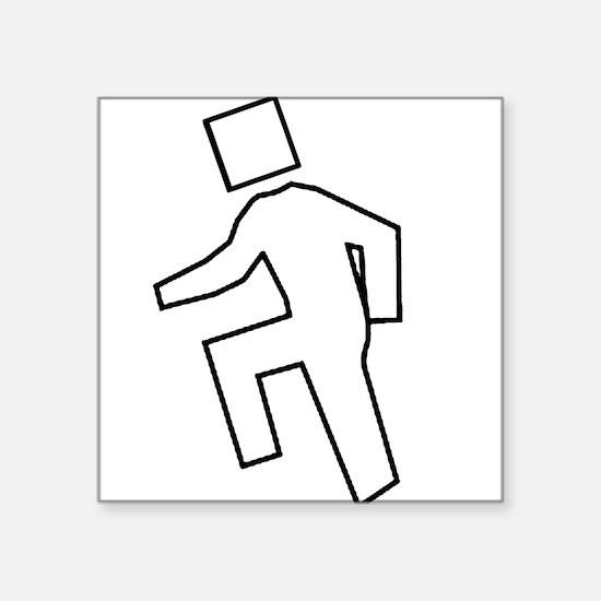 I'm Shufflin Square Sticker