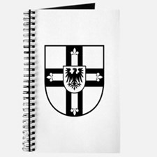 Crusaders Cross - Knights Templar B-W Journal