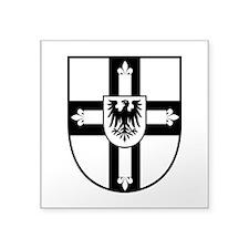 Crusaders Cross - Knights Templar B-W Square Stick