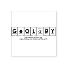 GEOLOGY Square Sticker