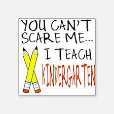 Kindergarten Teacher Square Sticker