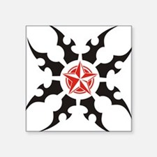 Tribal & Nautical Star Square Sticker