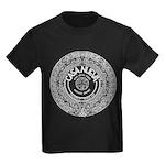 Casa Aztec Calendar Logo Kids Dark T-Shirt
