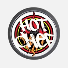 Hot Chef Wall Clock