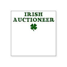 Auctioneer Square Sticker