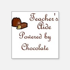 Teacher's Aide Square Sticker