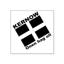 Kernow Square Sticker