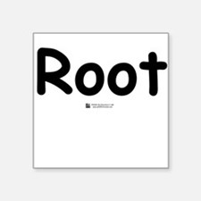 Root - Square Sticker