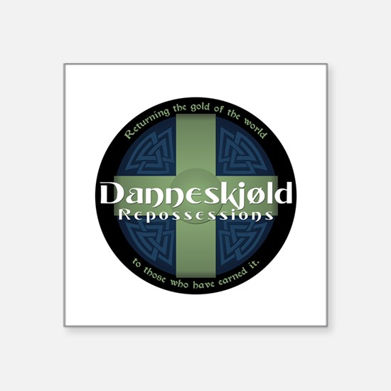 Danneskjold Square Sticker