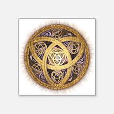 Celtic Sun Square Sticker