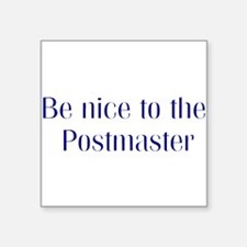 Postmaster Square Sticker