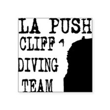 La Push Cliff Diving Team Square Sticker