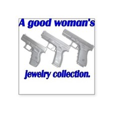 A Good Woman's jewelry collec Square Sticker