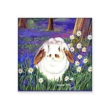 Horatio Lop Rabbit Square Sticker