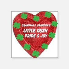 Irish Pride & Joy/Grandparents Square Sticker