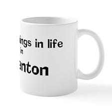 Pleasanton: Best Things Coffee Mug