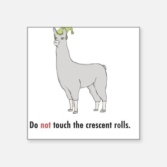 Crescent Rolls Square Sticker