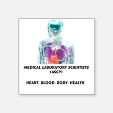 Grey MLS Square Sticker
