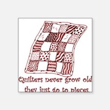 Quilters Square Sticker