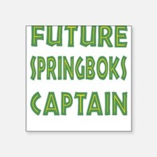 Future Springboks Captain Square Sticker