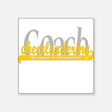 Sport of Champions (Yellow) Square Sticker