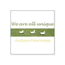 ducks Square Sticker