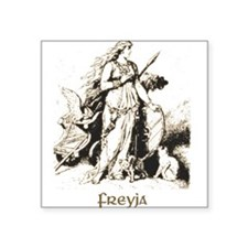 Freya Square Sticker