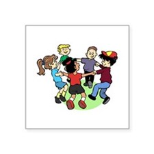Peace Among Children Square Sticker