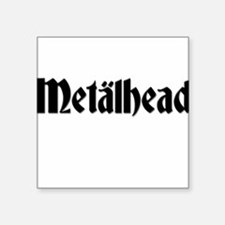Metalhead Square Sticker