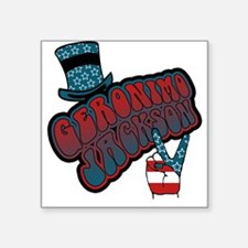 Geronimo Jackson Square Sticker