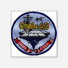 USS CORAL SEA Square Sticker