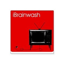 iBrainwash Square Sticker