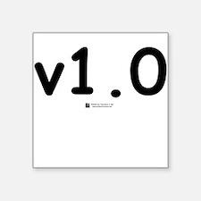 v1.0 - Creeper Square Sticker