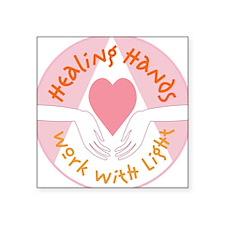 Healing hands - Square Sticker