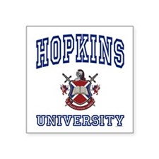 HOPKINS University Square Sticker