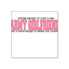 Strong Enough [Army Girlfrien Square Sticker