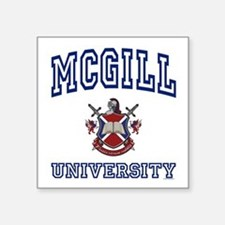 MCGILL University Square Sticker