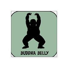 Buddha Belly - Square Sticker