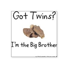For Big Brothers Square Sticker