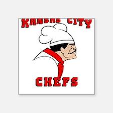 Kansas City Chefs Square Sticker