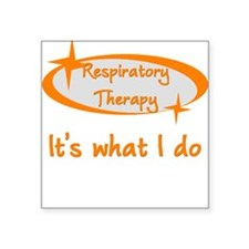Respiratory Therapist Square Sticker